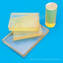 Tablero plástico de la PU de la venta caliente amarillo
