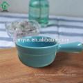 Plato de salsa de cerámica creativa con forma linda