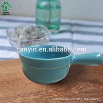 Plat de sauce céramique créative avec une forme mignonne