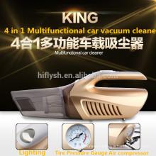 ВЧ-6601(001) 120 Вт портативный Автомобильный пылесос 12 В 4 В 1 высокой мощности мокрой и сухой двойной-использовать супер всасывания пылесос надувной насос