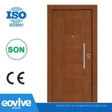 Novas portas de cobre da entrada de projeto
