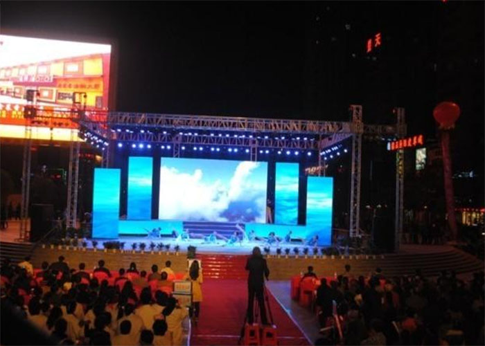 Outdoor Stage LED Display Excellent Thermisch Beheer