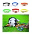 Collar de perro impermeable suave collar de perro reflexivo para mascotas