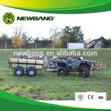 Quad bike log trailer