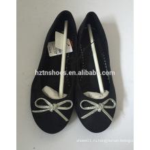 Классические балетные туфли с ботинками для женщин с низким каблуком