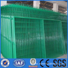 Wire mesh fence for security used in factory