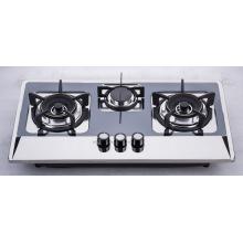 Três fogão a gás do queimador (SZ-LW-117)