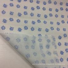 Ramie / Baumwolle gemischt floralen Drucken Stoff für Bekleidung / Textil Home