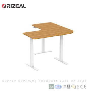 Современная офисная мебель 3 нога электрической высоты регулируемая сидеть стоять офисный стол