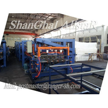 High quality SP-9 Z-Look EPS&Mineral Wool Sandwich Panel Machinery/sandwich panel making machine