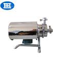 Pompe centrifuge auto-amorçante sanitaire en acier inoxydable pour huile de sirop et vin