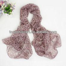 SD319-087 мода шелковые шарфы, изготовленные в Индии