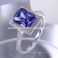 Zhefan Jewelry 925 Sterling Silver Jewelry Gemstone Women Rings