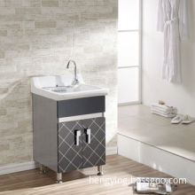 Bathroom Cabinet, with Wash Basin, but Without the Tap