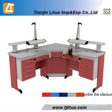 Ce & SGS Approved Dental Clinic Corner Work Table Bench