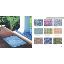 Espuma de PVC Anti Slip Floor Mat