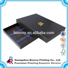 black card packaging paper jewelry boxes