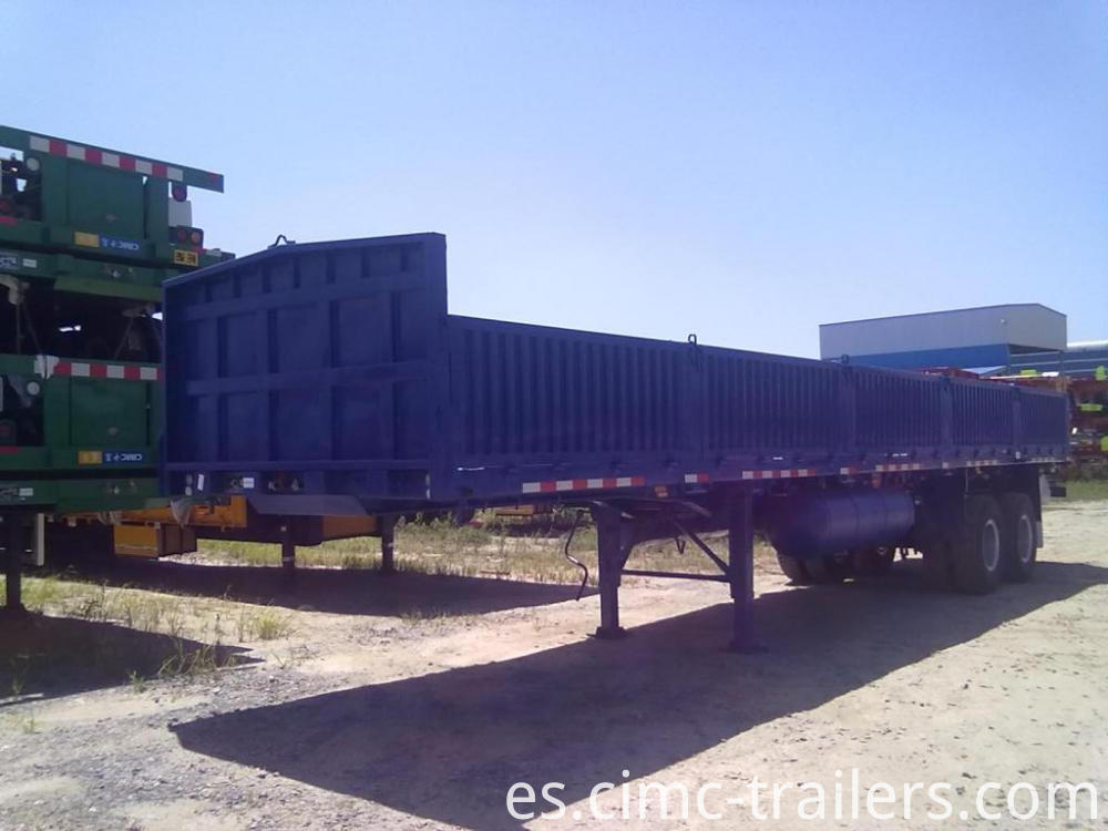 Lf 40 Two Axle Sideboard Semi Trailer