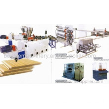 Wood Plastic Composite Plate Extrusion Machine
