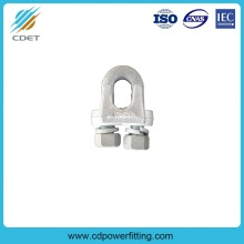 20 Years manufacturer for Wire Rope Fittings Transmission Line Fitting Guy Clips (Type JK) supply to Mayotte Wholesale