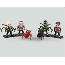 Kundenspezifische PVC Mini Action Figur Puppe Kinder Ant-Man Fertigung Spielzeug