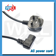 Laptop Computer Power Cord with Right Angle