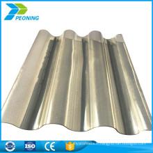 Vente en gros de panneaux de toit en fibre de verre transparente ondulés et translucides