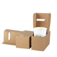 China for Kraft Paper Box Kraft Paper Coffee Cup Stand Easy to Assemble supply to Indonesia Wholesale