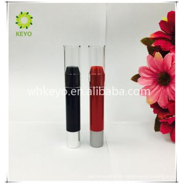 Empaquetado negro cosmético de lujo del tubo de la lápiz labial de 2017 nuevos productos