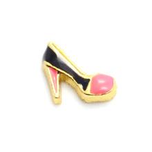 Charmes de forme de chaussure de hotsale à la mode, charmes de chaussure en métal en gros