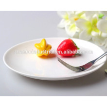Fast food restaurant super white& durable porcelain