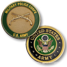 United States Enamel Military Challenge Coin