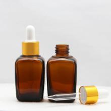 Botella cosmética con cuentagotas de aluminio (NBG06)