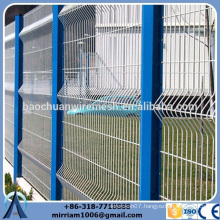 High quality 50*50mm temporary fence panels hot sale/clear panel temporary fence panels/ steel vitreous panel