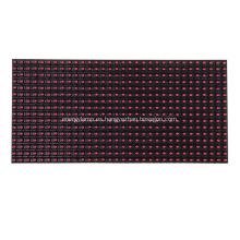 Módulo LED de color rojo único para exteriores P10