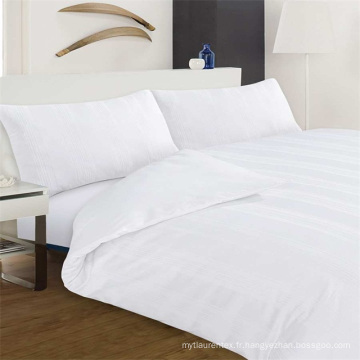 Ensemble de literie 100% coton Pure Collection Hotel Collection 200T Blanc