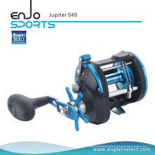 Angler Select Jupiter 3 + 1 Bearing Sea Fishing Trolling Boat Reel Fishing Tackle Reel (Jupiter 040)