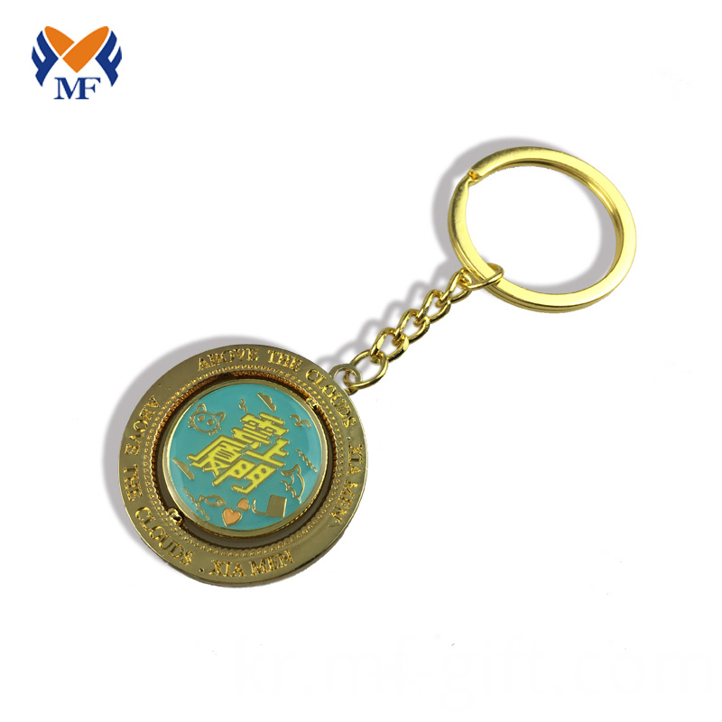 Keychain With Coin Holder