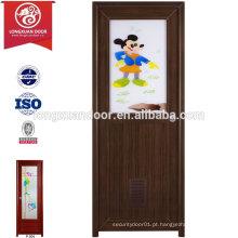 Fábrica de porta de banheiro de banheiro com banheiro personalizado com vidro temperado