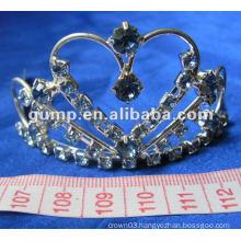 Crstal tiara comb (GWST12-090)