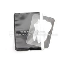 Uso dental plástico desechable sensor de rayos x sensor de imagen placa envolvente de la barrera