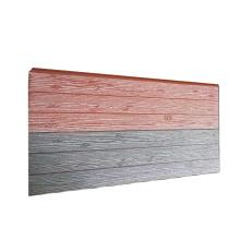 16mm Insulation Decoration Exterior Wall Board Metal PU Sandwich Panel