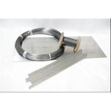 Rod de nickel de grande pureté pour l'industrie chimique