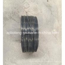 Rodillo recocido negro del alambre del lazo