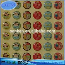 Etiquetas em epóxi adesivos redondos de alta qualidade 2017