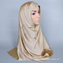 Lurex arabic scarf hijab solid