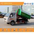KAMA hook lift refuse truck euro5 gasoline 3m3