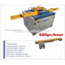 Hicas mejor máquina de madera de paletas de madera para muescas