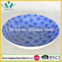 2014 nuevas placas de vajilla de porcelana de cerámica