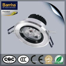 Decoration high lumen 3w led construction spotlight